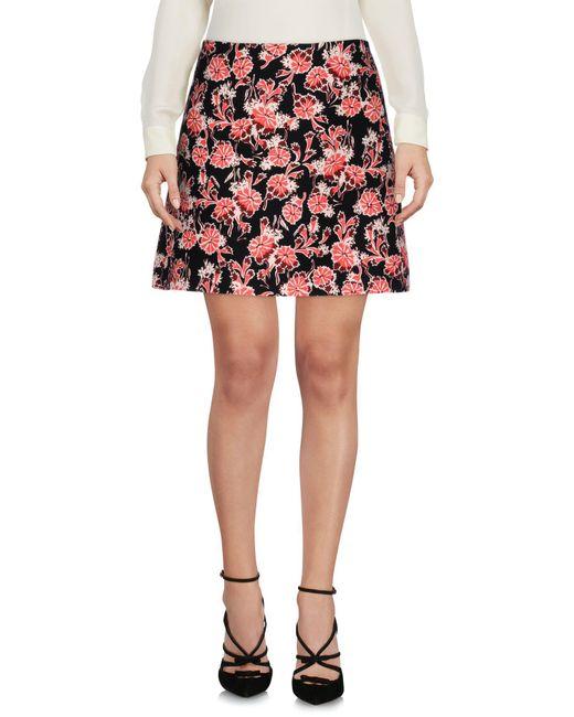 Marni - Black Knee Length Skirts - Lyst