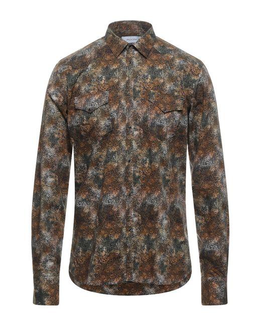 Aglini Brown Shirt for men