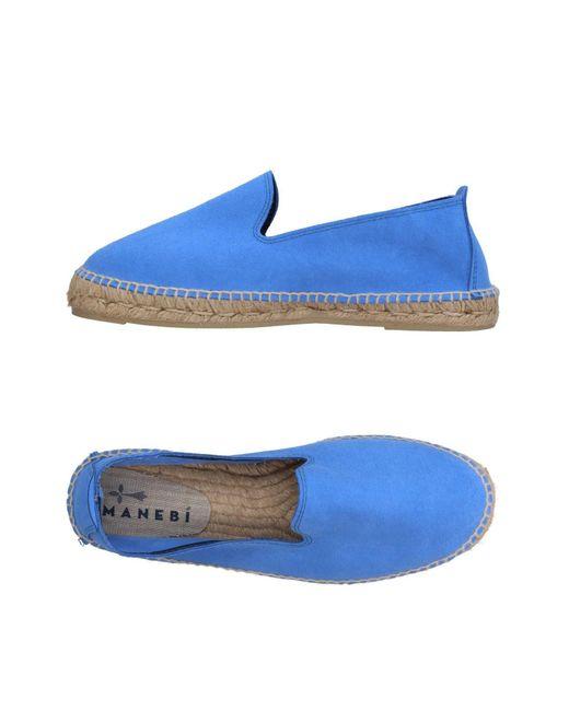 Manebí - Blue Espadrilles for Men - Lyst