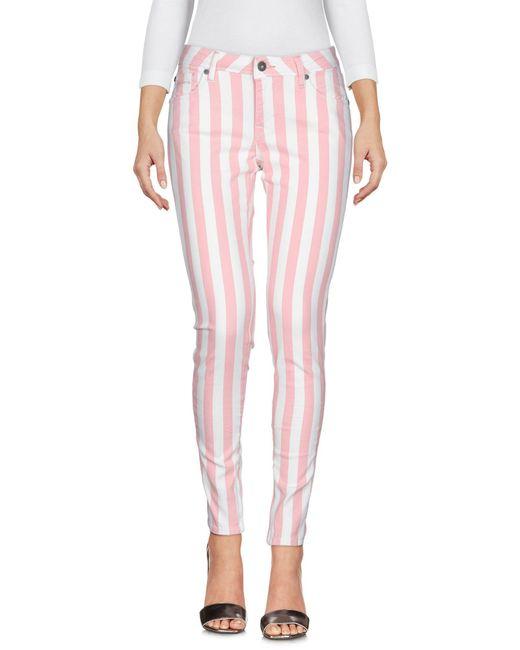 Pantaloni jeans di Pepe Jeans in Pink