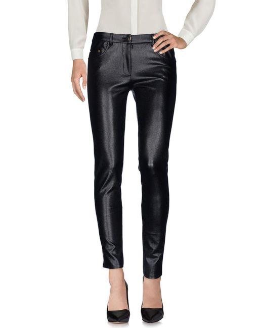 Boutique Moschino Gray Casual Pants