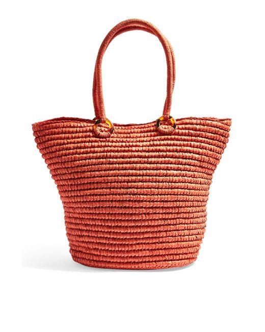 TOPSHOP Red Handbag