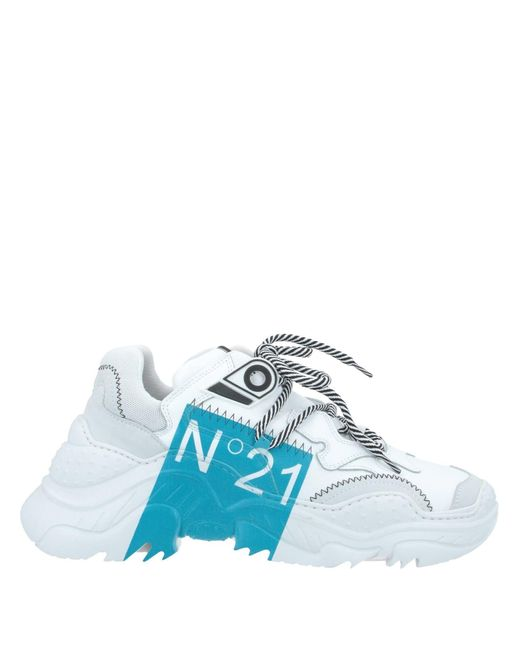 N°21 White Low-tops & Sneakers for men