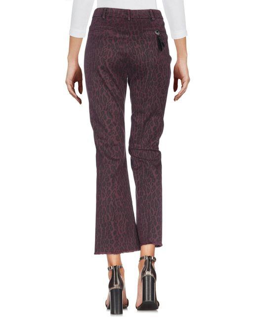 Saucony Purple Jeanshose