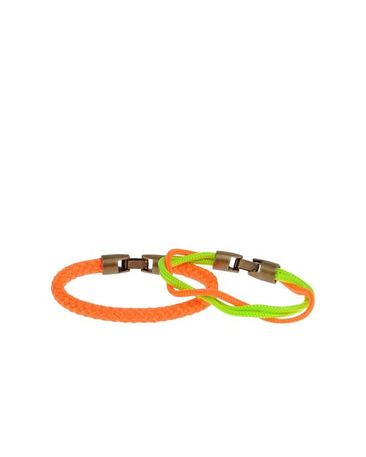 L4k3 - Orange Bracelet - Lyst