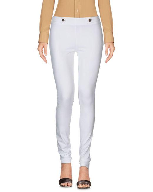 Pantalones Love Moschino de color White