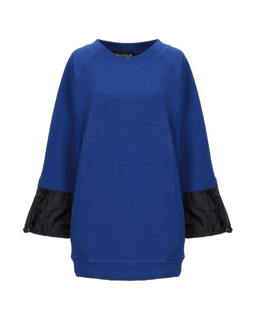 Boutique Moschino Blue Sweatshirt