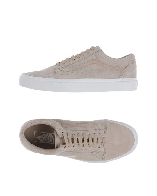 cdf96a6d65329e Lyst - Vans Low-tops   Sneakers in Natural for Men