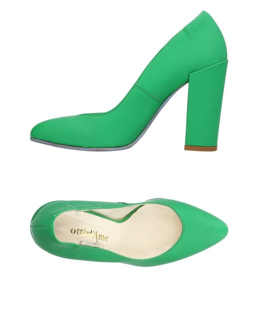 Ottod'Ame - Green Pumps - Lyst