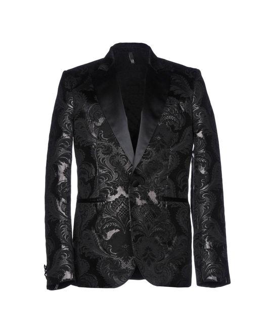 Christian Pellizzari Black Blazer for men