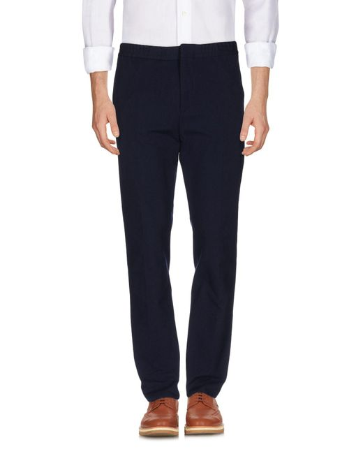 MSGM   Blue Casual Pants for Men   Lyst