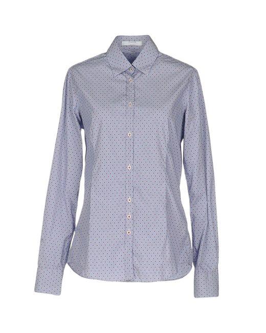 Aglini Blue Shirt