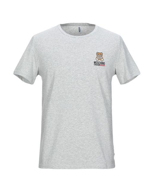 T-shirt intima di Moschino in Gray da Uomo