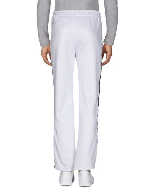 Faith Connexion Pantalon homme de coloris blanc