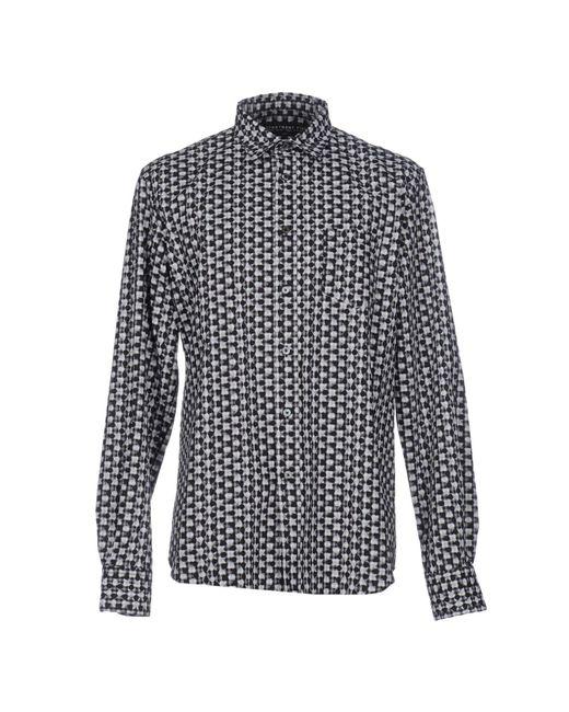 Department 5 - Black Shirt for Men - Lyst
