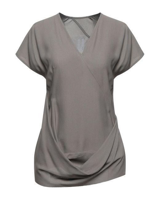 Blusa Rick Owens de color Gray