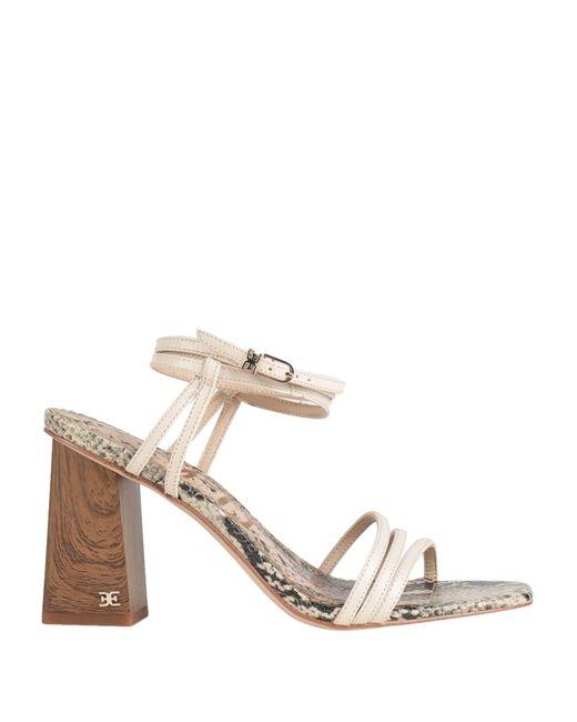 Sam Edelman White Sandals