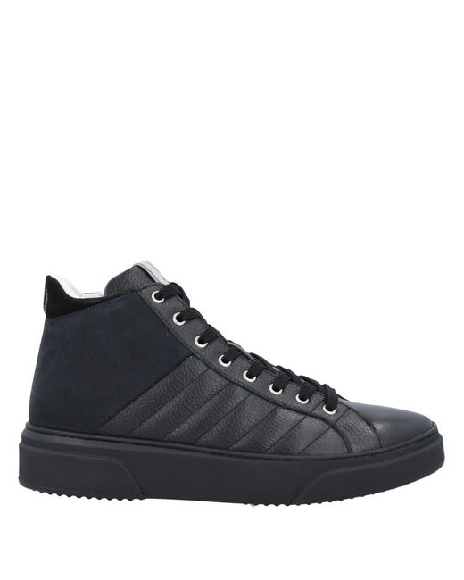 Pollini Black High-tops & Sneakers for men