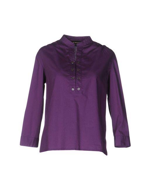 Jo No Fui - Purple Blouse - Lyst