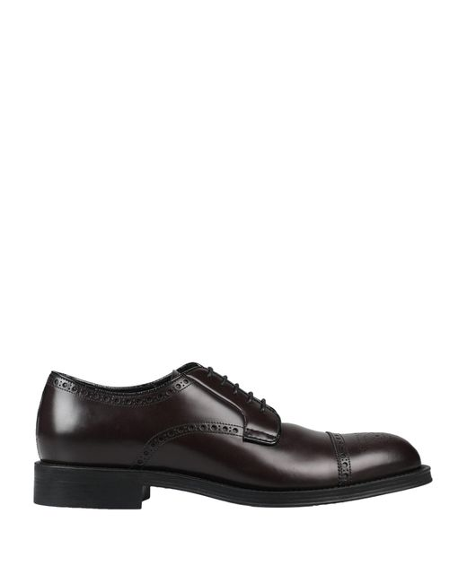 Prada Brown Lace-up Shoe for men