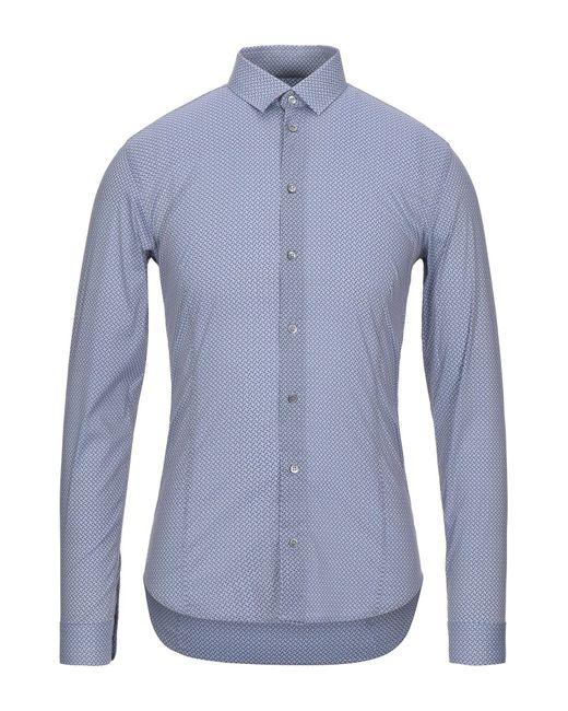Chemise Patrizia Pepe pour homme en coloris Blue