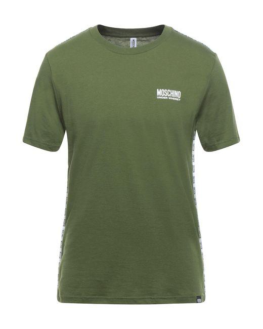 T-shirt intima di Moschino in Green da Uomo