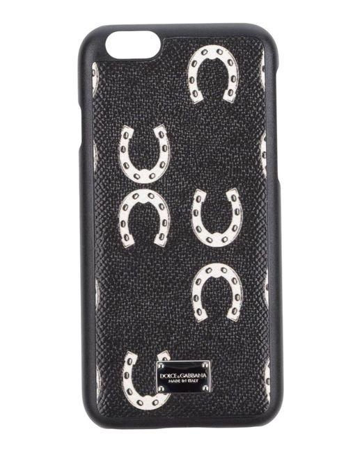 Dolce & Gabbana Cover & Hüllen in Black für Herren