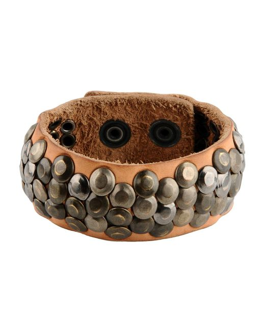 DIESEL   Brown Bracelet for Men   Lyst