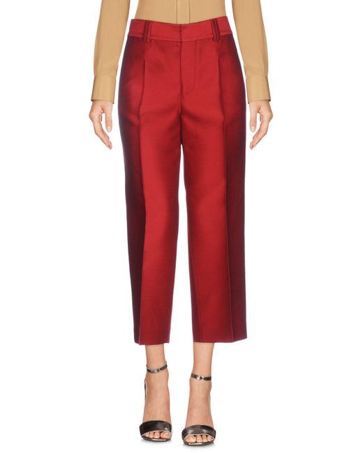 DSquared² - Red 3/4-length Trousers - Lyst