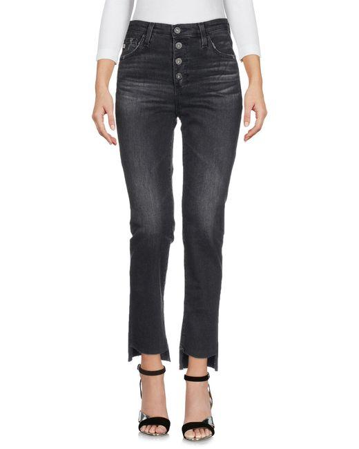AG Jeans Black Denim Pants