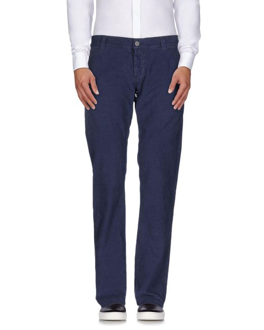 Dondup - Blue Casual Pants for Men - Lyst