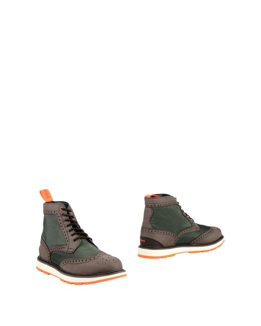 Swims - Green Ankle Boots for Men - Lyst