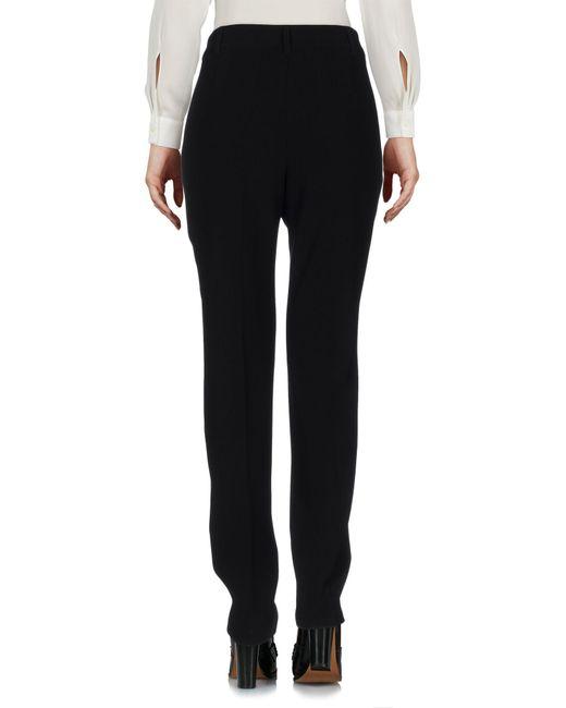 Boutique Moschino Black Casual Trouser