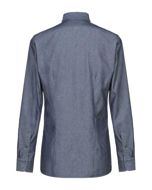 Tagliatore Hemd in Blue für Herren
