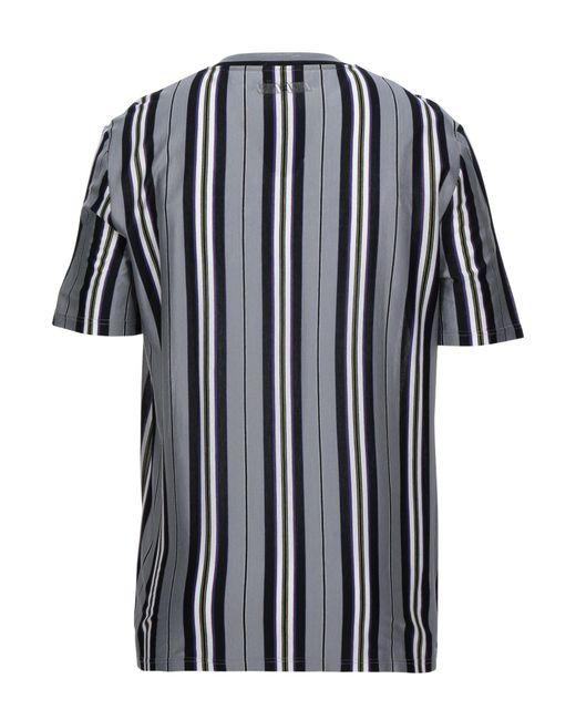 T-shirt di Lanvin in Gray da Uomo
