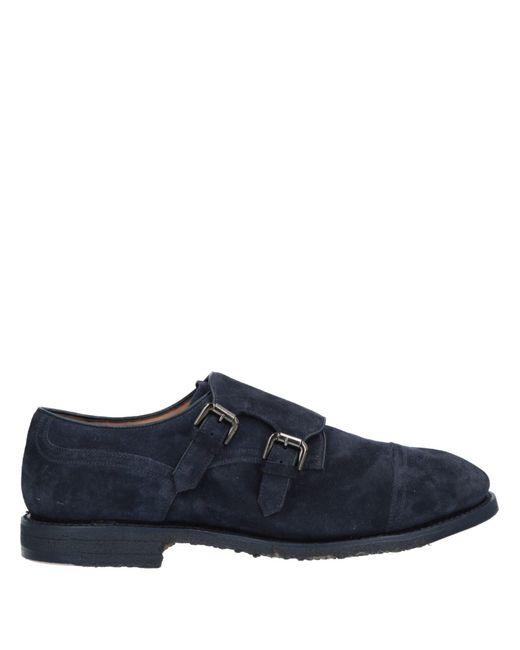 Silvano Sassetti Blue Loafer for men
