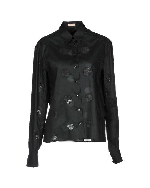 Alaïa - Black Shirt - Lyst