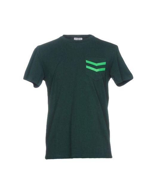 Bikkembergs Green T-shirt for men