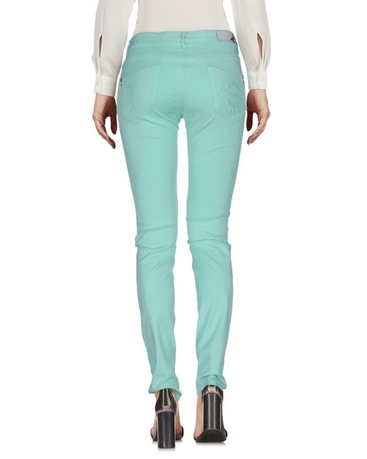 Patrizia Pepe Green Casual Pants