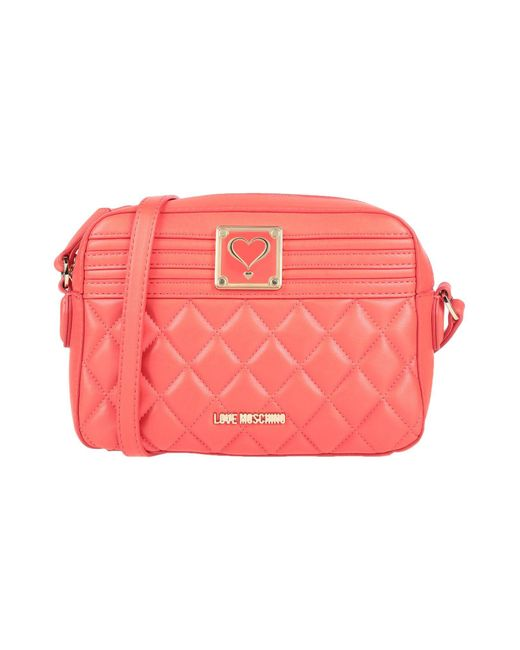 Love Moschino - Red Cross-body Bag - Lyst