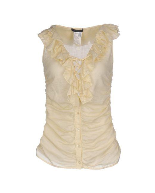 Pinko - Natural Shirt - Lyst