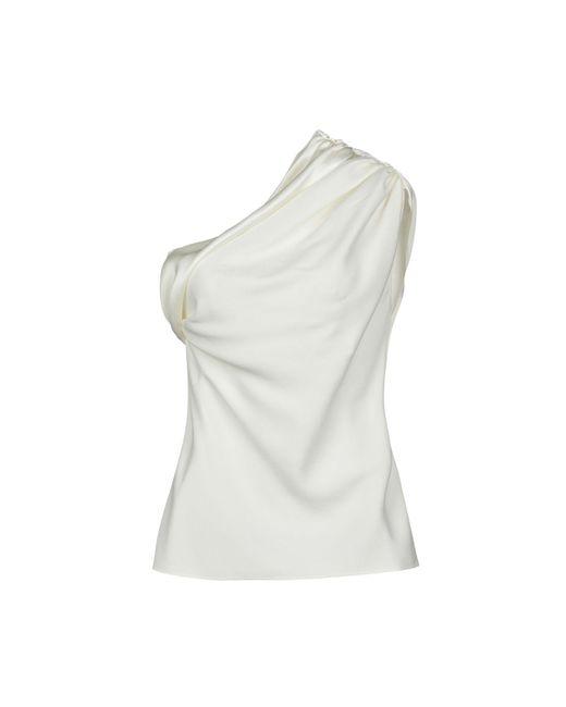 Lanvin Top de mujer de color blanco DFH1a