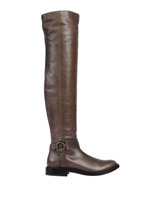 Brunello Cucinelli Brown Boots