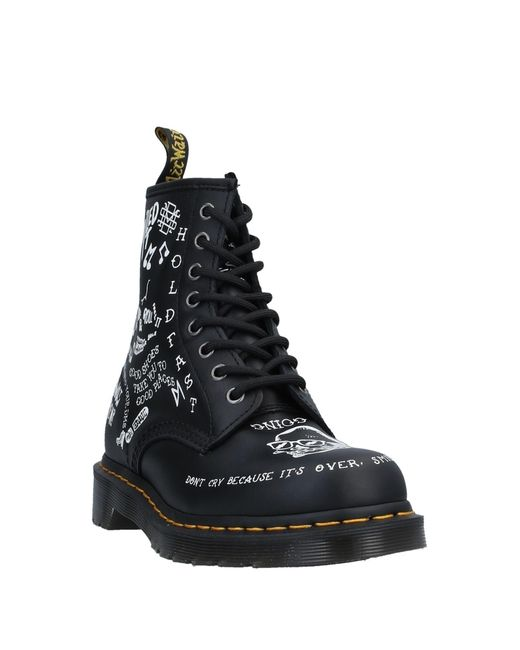 DR MARTENS Chaussures Montantes Scribble Black Lady