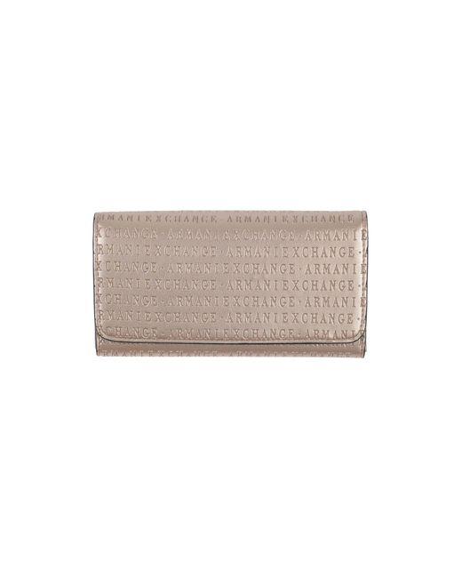 Portafogli di Armani Exchange in Metallic