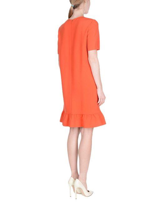 Robe courte Emilio Pucci en coloris Orange