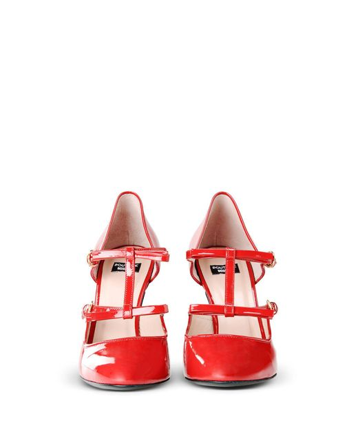 Boutique Moschino - Red Heel - Lyst