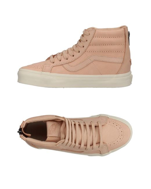Vans - Natural High-tops & Sneakers - Lyst