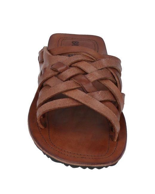 Buttero Brown Sandals for men