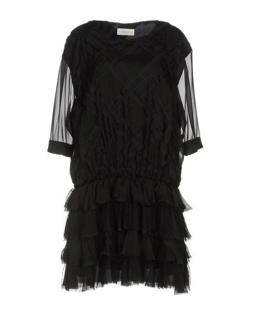 Faith Connexion - Black Short Dress - Lyst